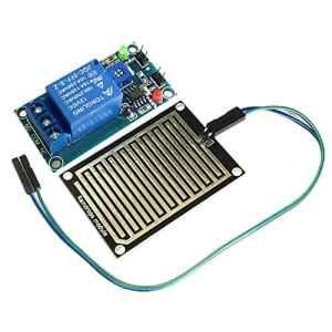 henreal 12V kit de Module de Relais de contrôle de capteur de Relais de Goutte de Pluie d'eau de Pluie Compatible avec Arduino Robot