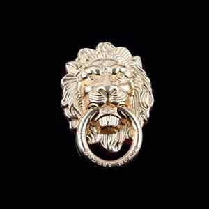 Mode Téléphone Stand Froid Animal Métal Lion Annulaire Téléphone Support Support Universel pour téléphone Portable Intelligent d'or