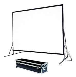 Schermo proiezione Quick-Folder ultraleggero con cornice rinforzata ripiegabile, tela soft-white + tela retro 646x403cm 300 16:10