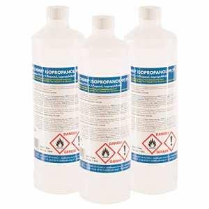24 x 1 L alcool isopropylique 99,9 % – FRAIS DE PORT OFFERT – bouteilles d'1 L