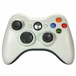 2.4ghz sans fil de haute qualité joypad contrôleur de jeu pour Xbox 360 blanche