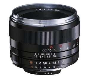 Carl Zeiss – 50 mm F/1.4 ZF de 2 objectifs