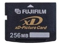 FUJIFILM Carte XD Picture Card (XD) Carte Mémoire Flash 256 Mo