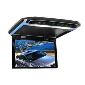 Moniteur MiCarBa de 12,1 pouces avec écran pivotant vers le bas Moniteur LCD TFT HD 1080p pour montage au plafond Processus vidéo extra-plat avec fonction IR (CL1201BL-IR)