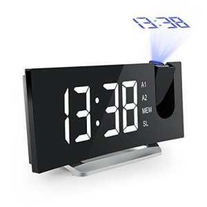 Radio-réveil avec projecteur dimmable