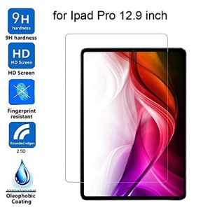 Bibao Film de Protection d'écran en Verre trempé pour iPad Pro 12,9″ Ultra Mince Anti-Bulle HD