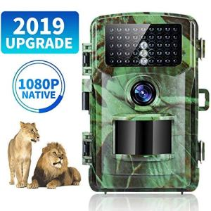 Caméra de Chasse Trail Camera 120 ° Grand Angle 47 LED infrarouges Game Camera 1 (b1)