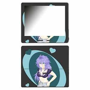 'DISAGU SF de 107162_ 999Design d'écran pour Amazon Kindle Oasis, Motif ecchi Girl 01Blue Transparent
