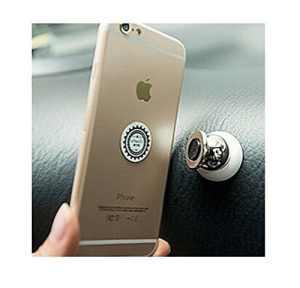 Estes. EL téléphone portable Coque support Multi-magnetic Fonction universel de voiture universel Aimant 360degrés de rotation