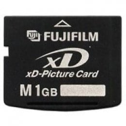 FUJIFILM Carte XD Picture Card (XD) M Carte Mémoire Flash 1 Go