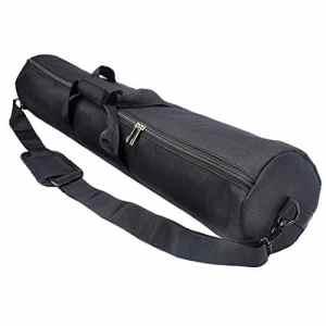 HWAMART ™ Sac à dos / sac en mousse rembourré en 1680D en nylon avec épaules – 120cm x 20cm – Noir (120CM)