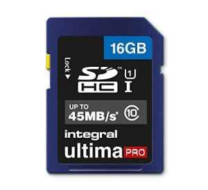 Integral UltimaPro Carte mémoire SDHC 16GB Classe (/10) 16 go