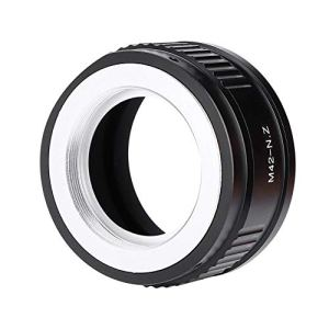 Semme Adaptateur de Monture d'objectif pour appareils Photo, Bague adaptatrice Premium M42-NZ pour Monture d'objectif M42 Objectif pour Appareil Photo Nikon Z Mount Z6 Z7