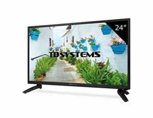 Téléviseur 24 Pouces LED HD TD Systems K24DLH8H. Résolution 1366 x 768, HDMI, VGA, USB Lecteur et enregistreur