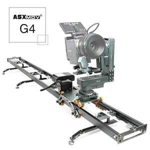 Asxmov-g4 sans fil Heavy Duty Motion Control Dolly piste Video Camera Slider pour Timelapse
