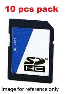 Industrial grade SD card, SLC, 8GB, extended wide temperature, 10 pcs