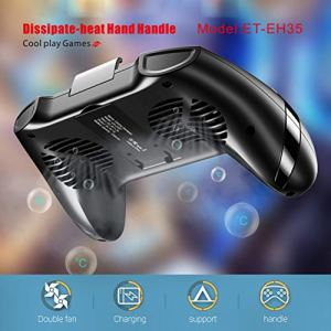 Neborn 4 en 1 Gamepad Ventilateur pour téléphone Portable + Gamepad Game Controller + Power Bank + Support