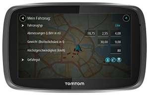 TomTom Trucker 6000 Lifetime (6 pouces) – GPS Poids Lourds [Version Anglaise]