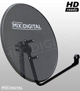 80cm de haute qualité de la marque en maille Satellite Plat avec fixations de support