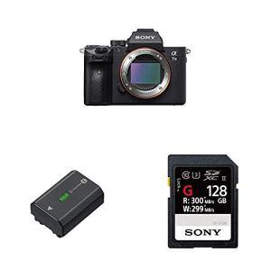Sony – Pack Appareil Photo Numérique ILCE-7M3 + Batterie NP-FZ100 + Carte Mémoire 128Go SFG1G
