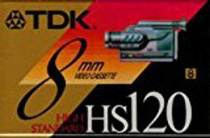 TDK P6120mp 8mm MP Premium Bande vidéo