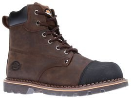 CRAWFORD BOOT, BROWN, SZ 10 FD9210 BR 10 By DICKIES-WORKWEAR