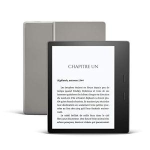 Nouveau Kindle Oasis, Maintenant avec température d'éclairage ajustable, Résistant à l'eau, 8 Go Wi-Fi, Graphite