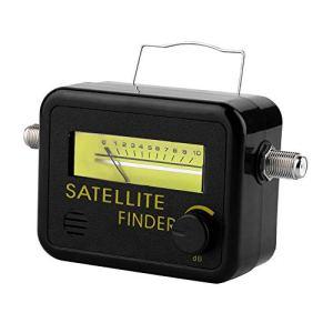 SF-9501 Plastic Digital Satellite Signal Tester Level Meter Finder with LCD Display 950-2150MHz Black