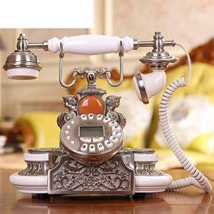 DHJ Téléphone à la Maison Européenne Antique Téléphone Mode Rétro Ménage Fixe Téléphones,AA