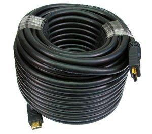 Generic. GH Speed Act 50m HDMI 1.41.43D TV Hi Haute Vitesse Actif Répéteur Actif Le 3D TV câble Ethernet.
