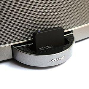LAYEN i-DOCK 4.1 Adaptateur sans fil Bluetooth Récepteur de musique stéréo. AptX & Dual Pair. Diffusez depuis votre smartphone, tablette ou ordinateur portable (ne convient pas aux voitures)