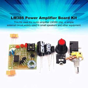 Momorain LM386 Super Mini 3V-12V Amplificateur De Puissance Conseil Costume Kit électronique Kit De Bricolage Audio Module Amplifier Basse consommation