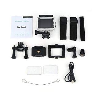 SJ5000 Action Camera HD Full 1080p 30m Etanche 2.0 pouces Ecran Sport Cam Rouge