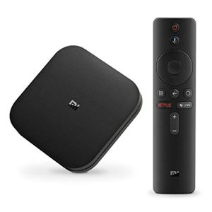 Xiaomi Android TV Box, Mi Box S 4K [Xiaomi Dernièrer version] Boitier tv Smart tv Google Set top Box Version internationale avec HD/H.265 / 4K / 3D / BT4.2