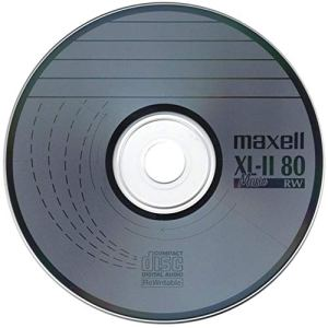 Maxell Lot de 1000 disques Vierges Anti-Rayures pour CD-RW XL-II