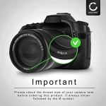 CELLONIC Filtre de Fluorescence FLD Filtre Compatible avec Olympus Zuiko Digital 14-42mm 40-150mm 75-300mm Ed 14-150 Ed 70-300 (Ø 58mm)