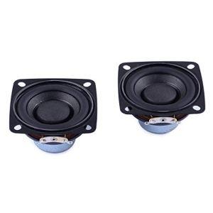 Cylewet Lot de 2 Haut-parleurs stéréo pour Arduino CLW1116 5 cm 4 Ohm 10 W