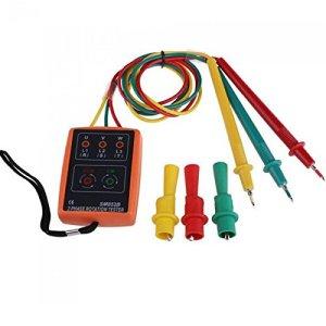 Doradus Sm852b 60v-600V AC 3 phases présence de séquence détecteur de témoin du testeur de rotation de mètres avec LED buzzer