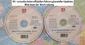 2019 B M W Professional CCC Update DVD1 + DVD2 Flash Edition
