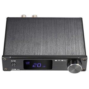 ammoon Ampli amplificateur de puissance audio Numérique 3,5 mm AUX analogique / USB / coaxial / optique stéréo avec télécommande