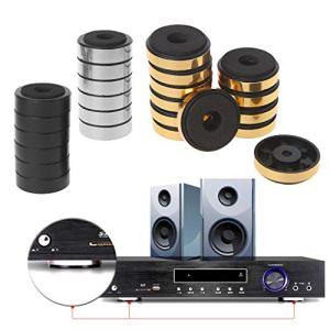 Baodanjiayou 12pcs Absorption des Chocs d'amortissement pour l'audio Haut-parleurs stéréo amplificateur Pieds Pad