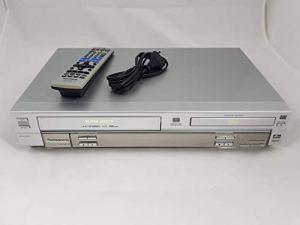 Combiné lecteur DVD Panasonic NV-VP31 et magnétoscope/lecteur vidéo VHS avec télécommande