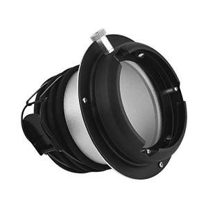Docooler Profoto à Bowens Mount Convertisseur Adaptateur Anneau Speedring pour Studio Light Strobe Flash
