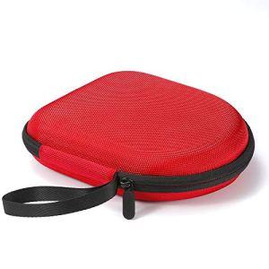 Étui Rigide pour Casque d'écoute sans Fil Bluetooth JBL T450BT / JBL T500BT Over Ear, Sac de Transport et de Protection de Voyage – Rouge