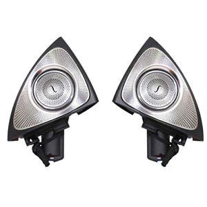 Haut-parleur voiture Lecteur multimédia Aigus Stéréo Audio Conduite Système son 3D rotatif Éclairage Intérieur pratique Installation facile Accessoire automatique pour classe C 2015-2018 2019(1)