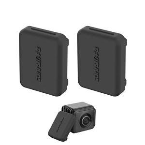 JXE Housse en Silicone Anti-poussière pour Insta360 One R Lens – 2 pièces