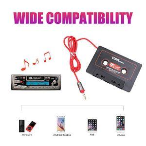 Kampre Convertisseur de Cassette de Voiture Noir MP4 MP3