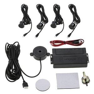 KKmoon – Kit d'aide au stationnement pour voitures (alarme + 4 capteurs) Tipo Zumbador