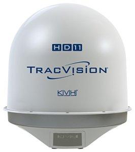 Kvh 1007-70010-22Tracvision hd11TV Antenne avec Dummy Bundle