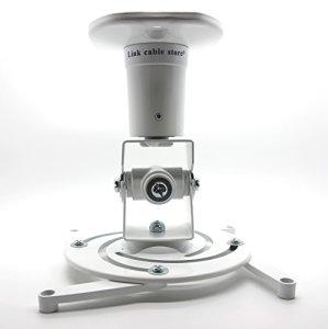 LCS – Support Plafond – Couleur Blanc – pour vidéoprojecteur inclinable et orientable